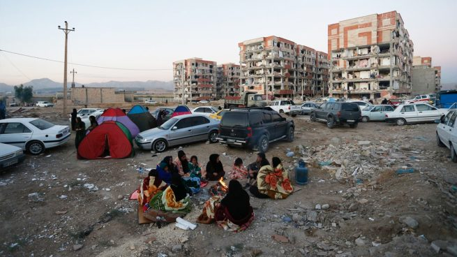 Terremoto desastroso sacude Iran e Irak